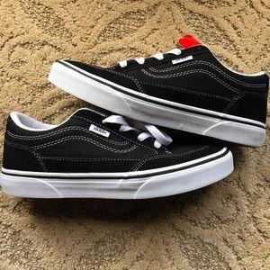 Brand new black Vans Youth 5.5